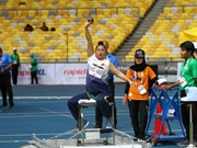 2017年东盟残运会:越南体育代表团获33金