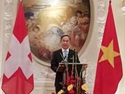 越南与瑞士合作关系呈现积极发展态势
