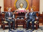 胡志明市领导会见韩越友好议员协会主席金贺勇