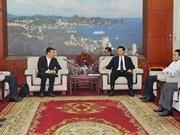 广宁省人民委员会主席阮德龙会见中国投资商