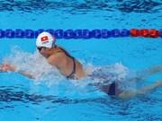第五届亚洲室内与武道运动会: 越南游泳运动员阮氏映圆再夺金