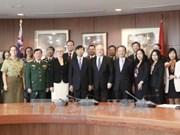 第五次越澳外交与国防战略对话在澳大利亚召开