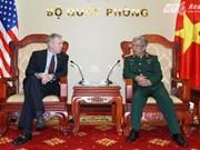 阮志咏上将会见美国驻越南大使特德·奥休斯