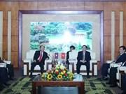 进一步加强越老两国内务领域的合作