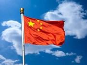 越南领导人向中国领导人致国庆贺电