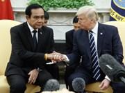 泰国总理巴育访问美国
