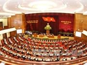 越共十二届六中全会第一天新闻公报