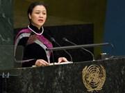 越南承诺与联合国合作 加强法治实现可持续发展目标