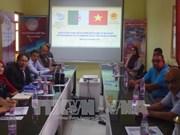 越南与阿尔及利亚贸易投资促进会在比斯克拉省举行