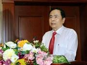 陈青敏:希望越南企业家努力以质量打造品牌
