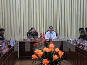 后江省领导会见柬埔寨国防部发展局代表团