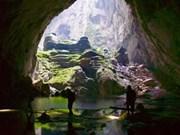 广平省开通穿越山洞洞穴的旅游线路