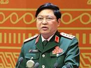 越南国防部部长吴春历对印尼进行正式访问