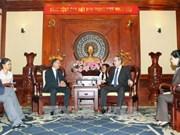 胡志明市与法国加强交通与城市发展领域的合作