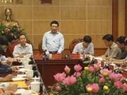 政府副总理范平明视察清化省灾后恢复重建工作