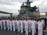 菲律宾与澳大利亚海军开展自然灾害应急演习
