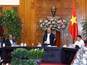 政府总理阮春福与北宁省领导举行工作会议