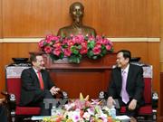 陈清敏:越法两国战略伙伴关系将迈上新高度