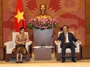越南国会副主席冯国显会见老挝国家审计署审计长斯芬丹