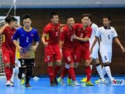 2017年东南亚五人制足球锦标赛:越南队力争晋级决赛