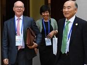 丁进勇分别会见美国财政副部长和国际货币基金组织副总裁