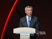 新加坡总理李显龙访问美国