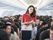 越捷航空公司推出4万张飞往台湾多地的特价机票