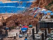 马来西亚在建工地发生山体滑坡 致11人死亡和失踪