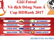 越南承办HD Bank杯室内五人制足球东南亚锦标赛