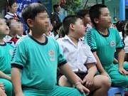 越南各大城市儿童肥胖人数剧增