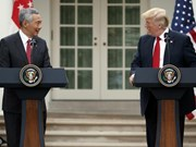 美国与新加坡加强经济与防务合作