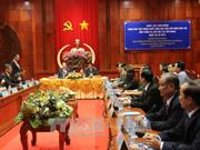 老挝副总理宋赛·西潘敦访问越南前江省