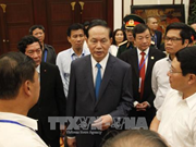 国家主席陈大光对2017年APEC领导人会议周各项活动进行总审
