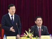 政府副总理郑廷勇向新任交通运输部长下达一系列重点任务