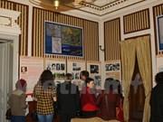 越南驻保加利亚大使馆举行有关胡志明主席图片展