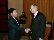 美国总统特朗普访问越南将有助于深化两国全面伙伴关系