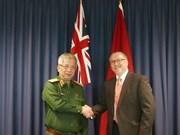 首次越澳国防政策对话会在澳大利亚召开