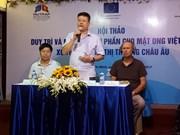 越南努力促进蜂蜜对欧盟出口