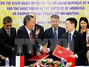 越南国家审计署与印尼审计委员会签署公共部门审计合作的谅解备忘录