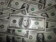 11月6日越盾对美元中心汇率今日上涨7越盾