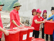 """越南红十字会为遭受强台风""""达维""""影响的省份提供紧急救助"""