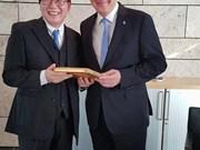 德国图林根州推动与越南的合作关系