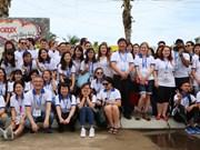 APEC 青年代表团走访广南省体验当地居民生活 了解地方特色