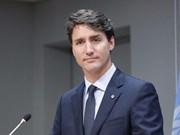 加拿大总理开始对越南进行正式访问
