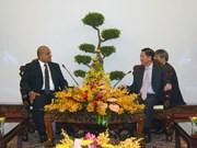 胡志明市与埃及促进行政监察合作