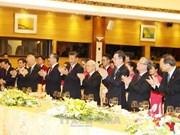 阮富仲和陈大光设宴招待中共中央总书记、国家主席习近平