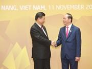 中共中央总书记、国家主席习近平对越南进行国事访问