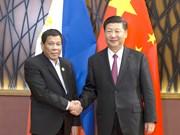 2017年APEC 会议:菲律宾总统分别与中美俄三国元首进行会晤