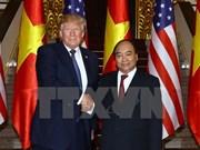 越南政府总理阮春福会见美国总统特朗普