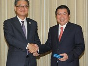 胡志明市希望与韩国加强合作关系